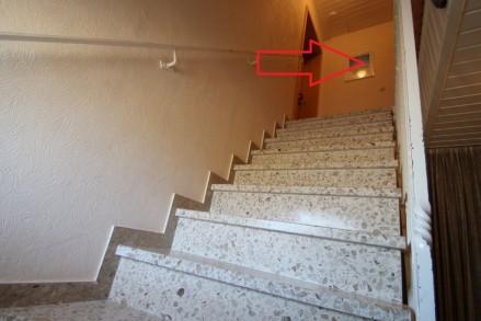 Treppe zur Wohnnung