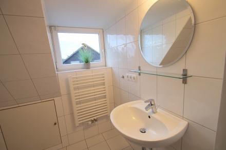 Toilette oben